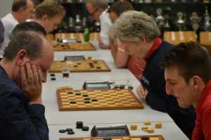 De wedstrijd tegen DC Fryslân. Foto: Jasper Lemmen