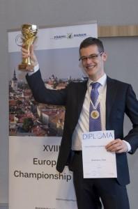 Roel Europees kampioen