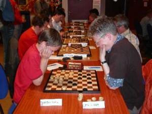 Ik in actie tegen Hans Jansen tijdens Den Haag 2005.