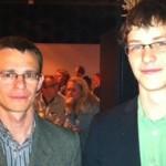Met Alexander Georgiev, 2011.